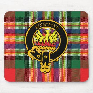 Escudo de Makgill y cojín de ratón escoceses del t