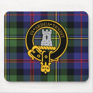 Escudo de Malcolm y cojín de ratón escoceses del t