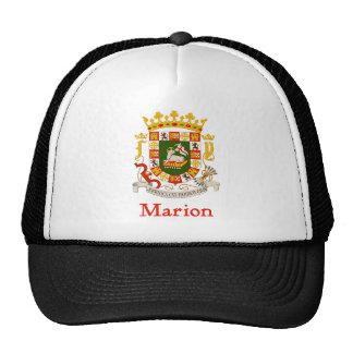 Escudo de Marion Puerto Rico Gorra