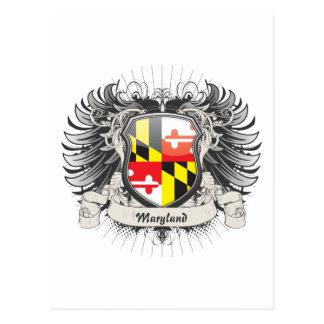 Escudo de Maryland Postales