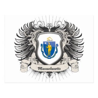 Escudo de Massachusetts Postal
