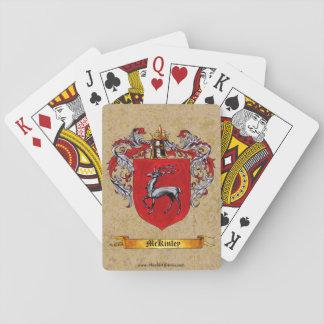 Escudo de McKinley de brazos Baraja De Póquer