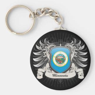 Escudo de Minnesota Llavero Personalizado