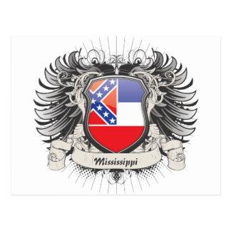 Escudo de Mississippi Postales