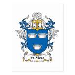 escudo de Moes Family Postal