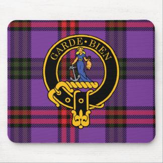 Escudo de Montgomery y cojín de ratón escoceses de Tapete De Raton