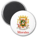Escudo de Morales Puerto Rico Imanes De Nevera