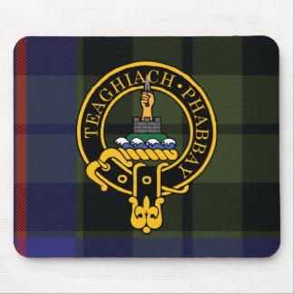 Escudo de Morrison y cojín de ratón escoceses del  Alfombrilla De Ratón