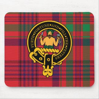 Escudo de Murray y cojín de ratón escoceses del ta