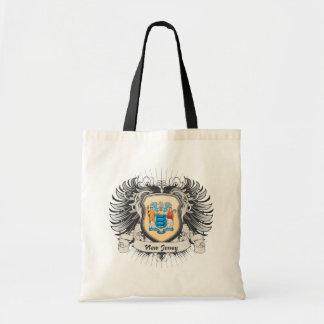 Escudo de New Jersey Bolsas De Mano