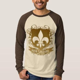 Escudo de New Orleans Playera