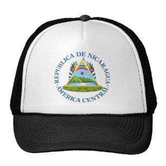 Escudo de Nicaragua Gorras