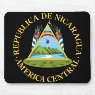 Escudo de Nicaragua Alfombrilla De Raton