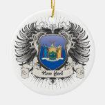 Escudo de Nueva York Ornamentos De Reyes