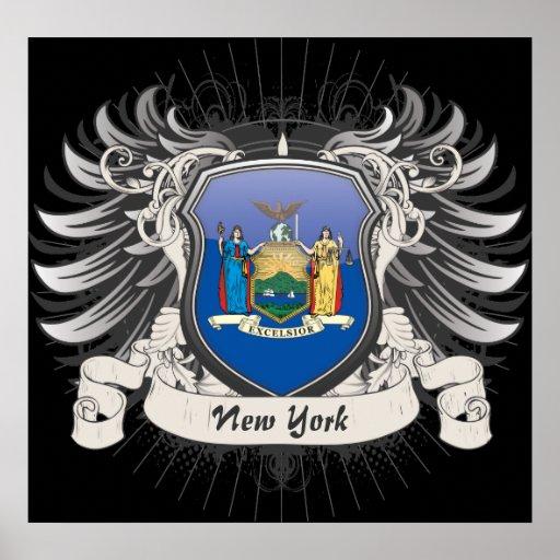 Escudo de Nueva York Posters