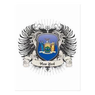 Escudo de Nueva York Postales