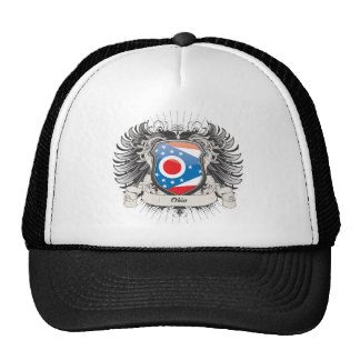 Escudo de Ohio Gorros Bordados