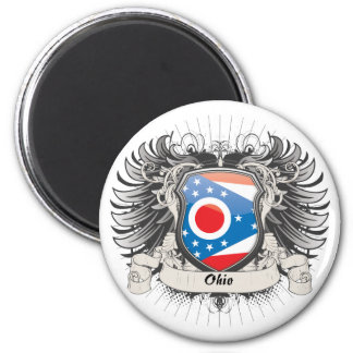 Escudo de Ohio Imanes De Nevera