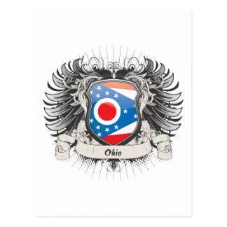 Escudo de Ohio Tarjetas Postales