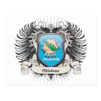 Escudo de Oklahoma Postales