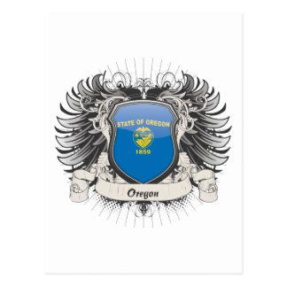 Escudo de Oregon Tarjeta Postal