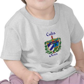 Escudo de Orta de Cuba Camisetas