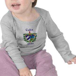 Escudo de Orta de Cuba Camiseta
