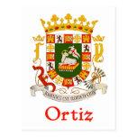 Escudo de Ortiz de Puerto Rico Postal