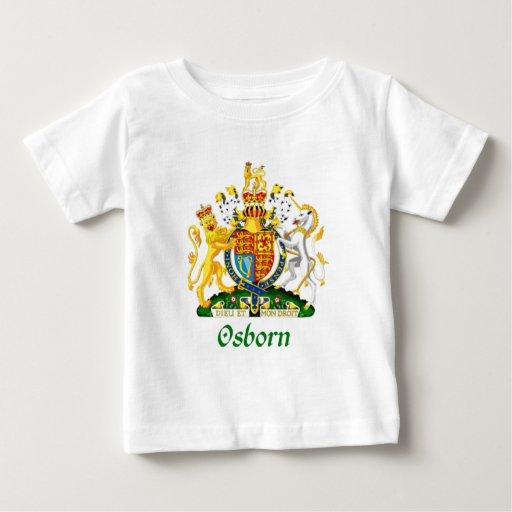 Escudo de Osborn de Gran Bretaña T-shirt