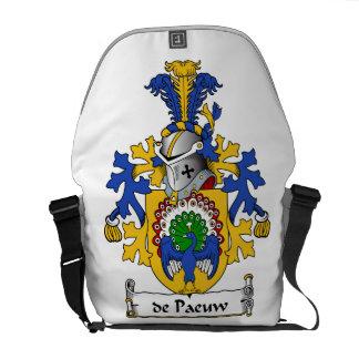 escudo de Paeuw Family Bolsa De Mensajería