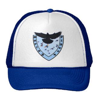 Escudo de palomas mensajeras gorros bordados