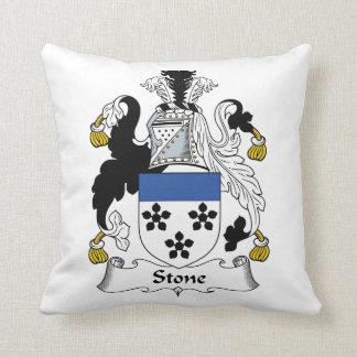 Escudo de piedra de la familia cojines