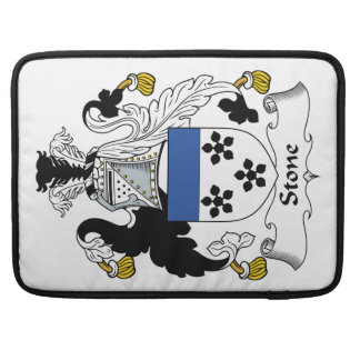 Escudo de piedra de la familia fundas para macbooks