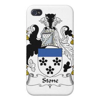 Escudo de piedra de la familia iPhone 4/4S fundas