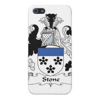 Escudo de piedra de la familia iPhone 5 carcasa