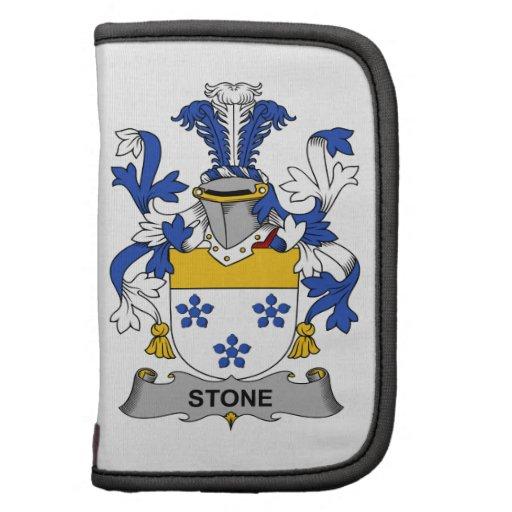 Escudo de piedra de la familia planificador