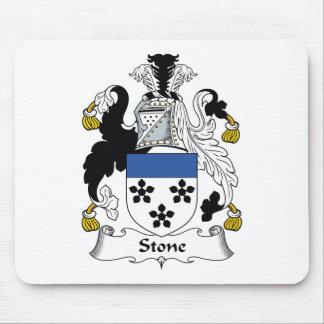 Escudo de piedra de la familia tapete de ratones