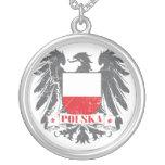 Escudo de Polska Pendiente Personalizado