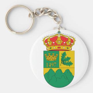 Escudo de Puebla de la Sierra Keychains