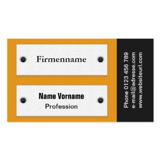 Escudo de puerta tarjetas de visita