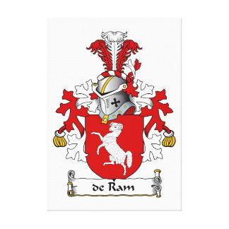 escudo de Ram Family Impresión En Lienzo Estirada