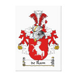 escudo de Ram Family Impresion En Lona