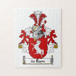 escudo de Ram Family Rompecabeza