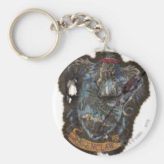 Escudo de Ravenclaw - destruido Llavero Redondo Tipo Pin