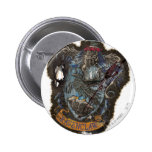 Escudo de Ravenclaw - destruido Pin Redondo 5 Cm