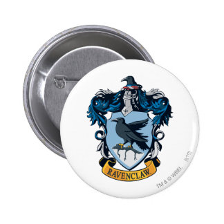 Escudo de Ravenclaw Pin Redondo De 2 Pulgadas