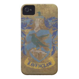 Escudo de Ravenclaw pintado Case-Mate iPhone 4 Protectores
