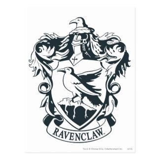 Escudo de Ravenclaw Tarjetas Postales
