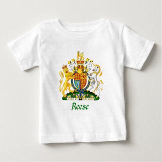 Escudo de Reese de Gran Bretaña Playera De Bebé