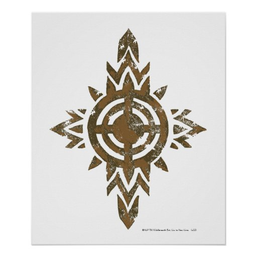 Escudo de Rohan Impresiones